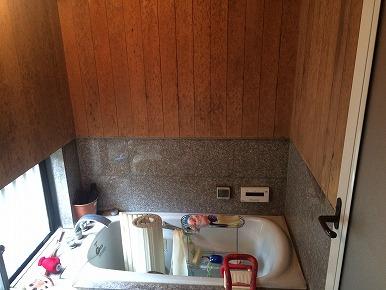 浴室内のバリアフリー工事