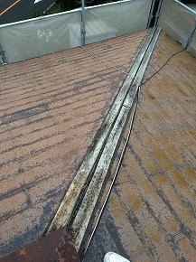 寄棟屋根の補修工事