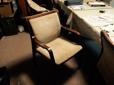 椅子のリペア