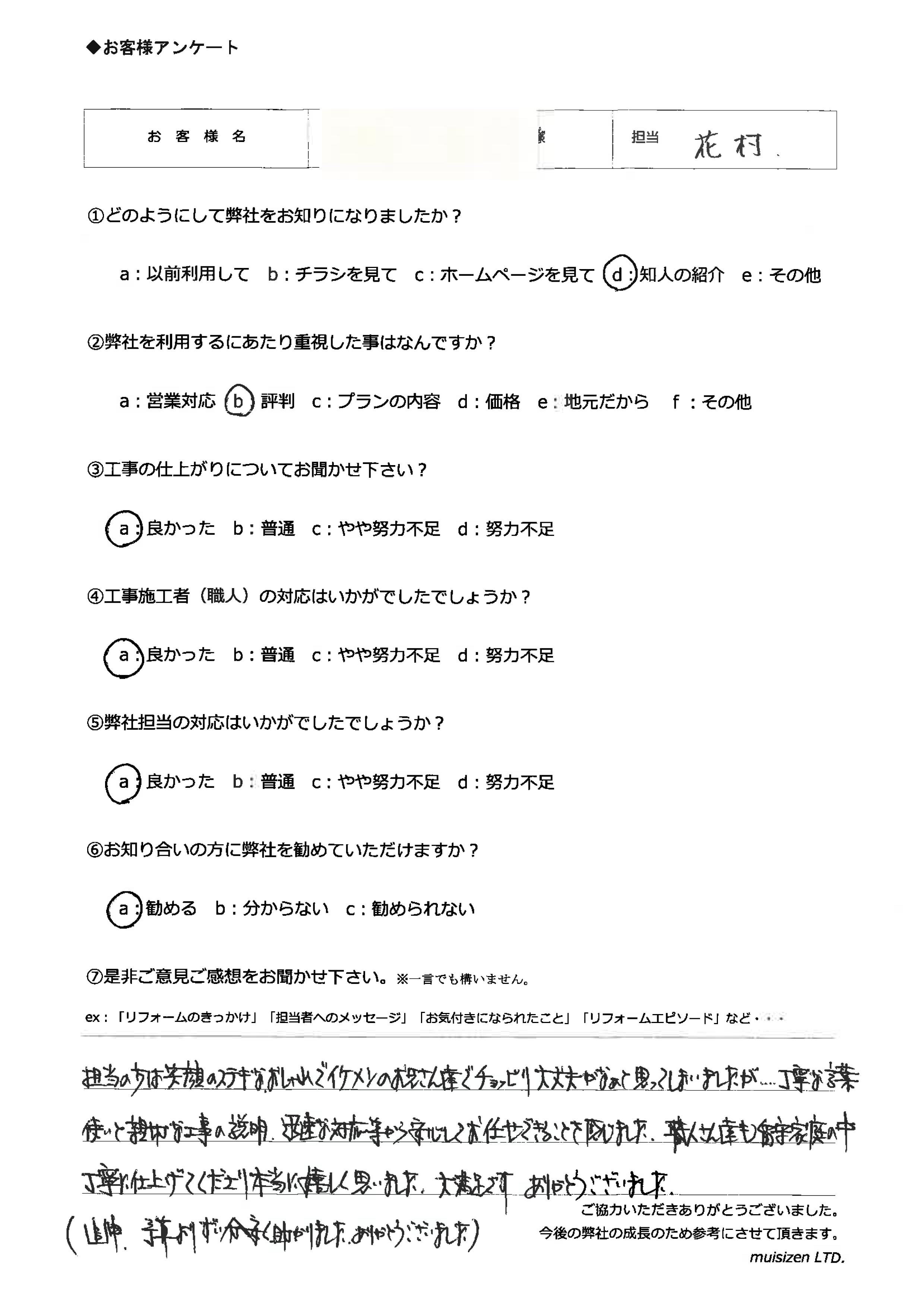 岐阜市M様外構工事