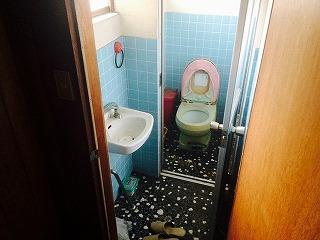 汲取りトイレを水洗トイレへ